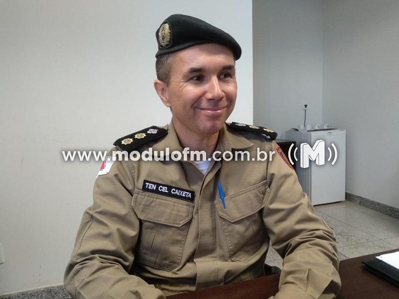 Comandante do 46º Batalhão explica funcionamento do projeto de videomonitoramento