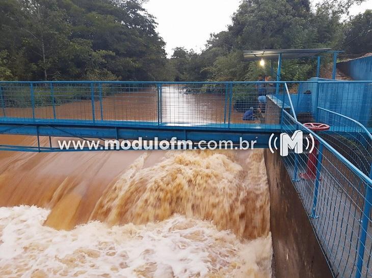 DAEPA atribui água suja ao excesso de chuvas e qualidade de decantadores