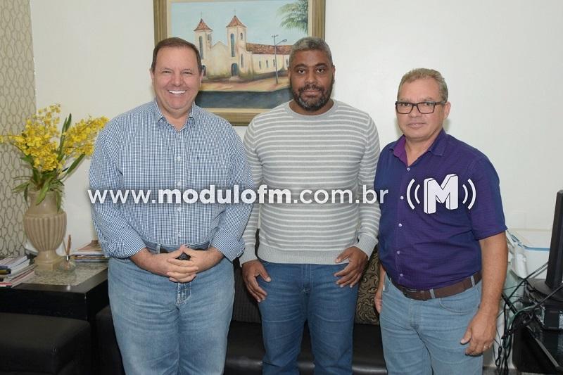 Diretor do IFTM de Patrocínio se reúne com prefeito Deiró Marra e discute projetos de expansão