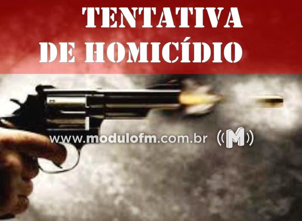 Dois homens invadem residência e atiram contra homem em Patrocínio