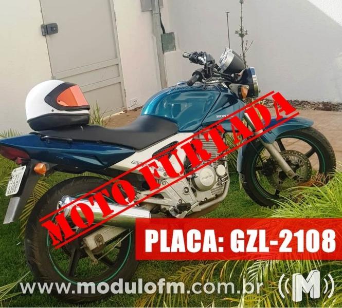 Moto é furtada no bairro Boa Esperança