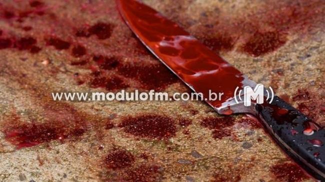 Mulher tenta matar companheiro a facadas pela segunda vez em Patrocínio