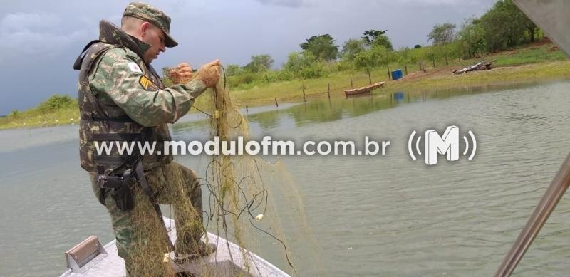 PM ambiental divulga balanço da piracema com 12 presos e 476 kg de pescado apreendidos