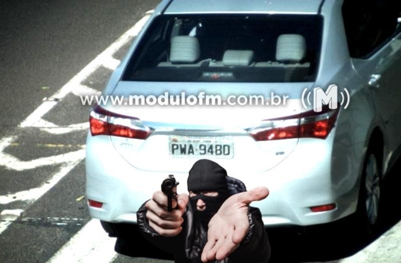 Policial Civil tem casa invadida por criminosos em Monte Carmelo