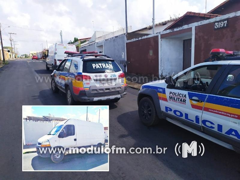 Suspeito de ser autor de vários furtos em Patrocínio e região é preso pela PM