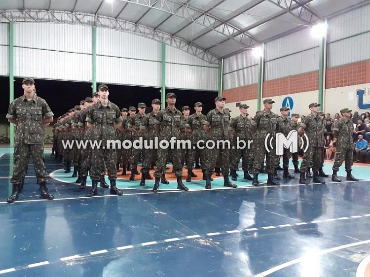 TG 04-020 realiza formatura de matrícula dos novos atiradores
