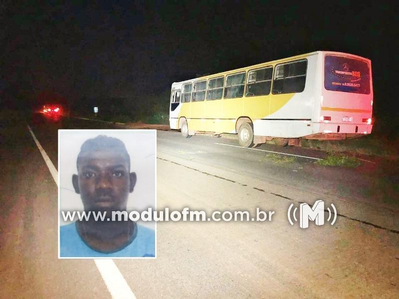 Homem atropelado na BR-146 não resiste e morre no hospital