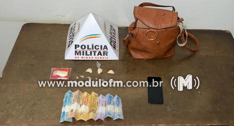 Jovem é preso após ser flagrado com drogas no bairro Enéas