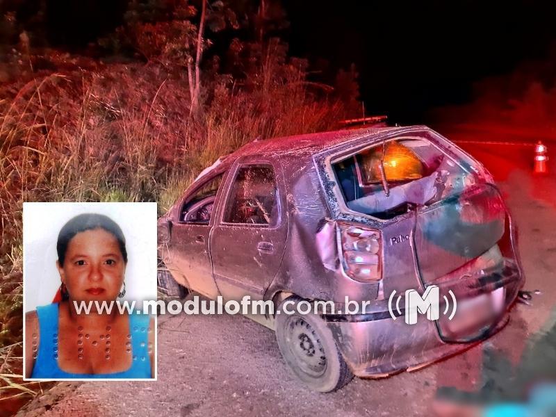 Motorista embriagado atinge barranco e mata mãe e filho de cinco anos