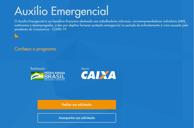 Pagamento do auxilio emergencial começa nesta quinta-feira(09/04)