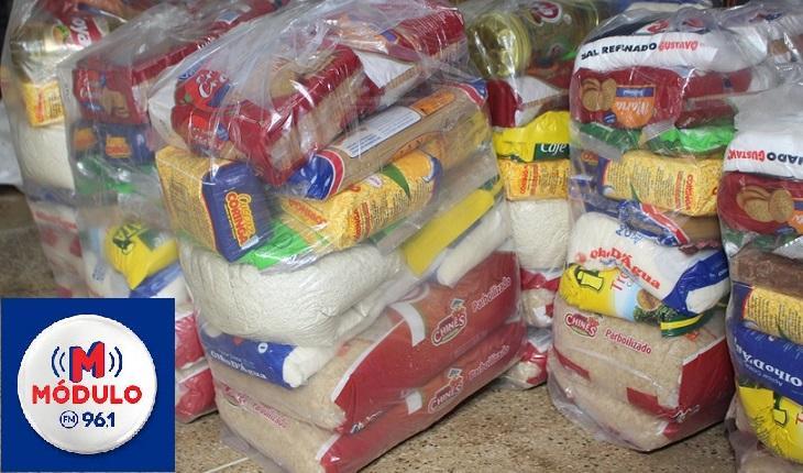 Prefeitura entregará cestas com alimentos que não foram utilizados na merenda escolar