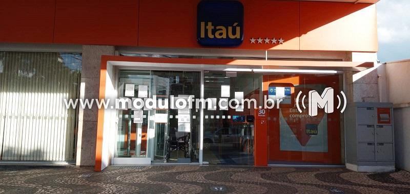 Agência do Banco Itaú é fechada por medida preventiva ao coronavírus em Patrocínio