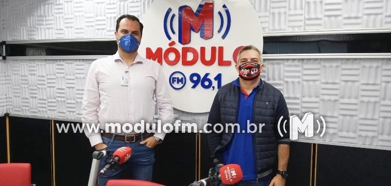 AO VIVO: Jornal da Módulo o superintendente da Santa...