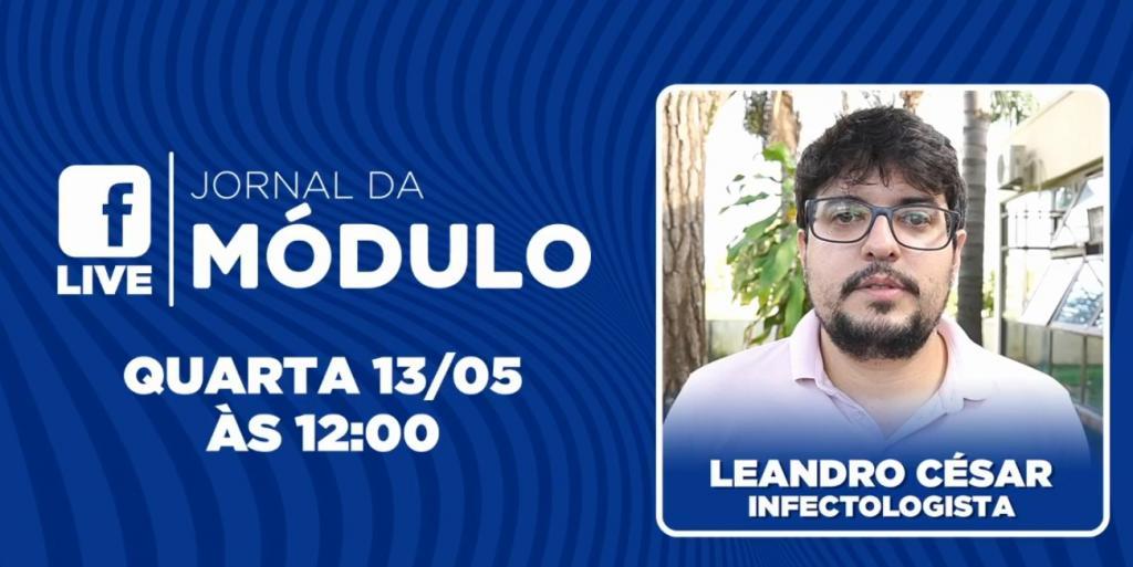 AO VIVO: Médico infectologista Dr Leandro César fala sobre...