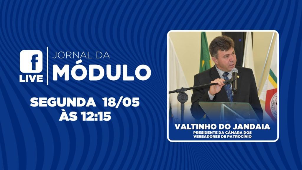 AO VIVO: Presidente da Câmara dos Vereadores fala sobre...