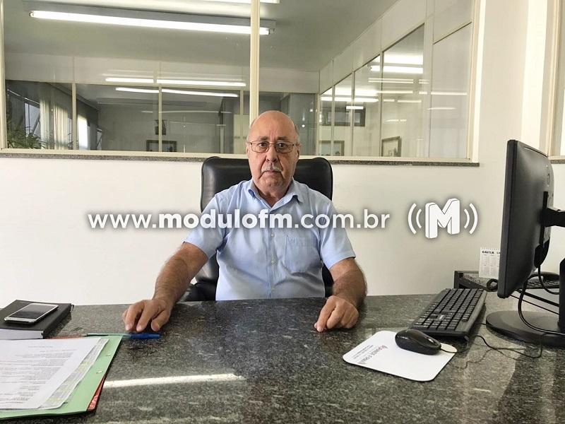 Dirceu Caldeira assume Secretaria de Administração e Desenvolvimento Econômico