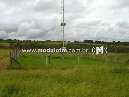 Estação meteorológica do INMET registra 3,8 ºC em Patrocínio