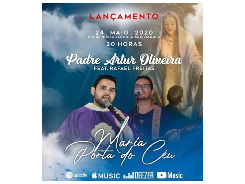 Ouça com exclusividade: Padre Artur Oliveira lança nova música neste domingo (24/05)