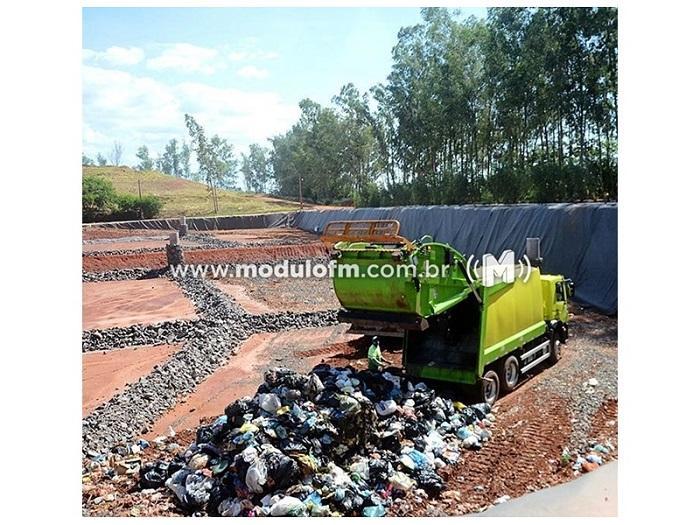 Secretaria de Meio Ambiente aguarda processo para instalação de aterro sanitário em Patrocínio