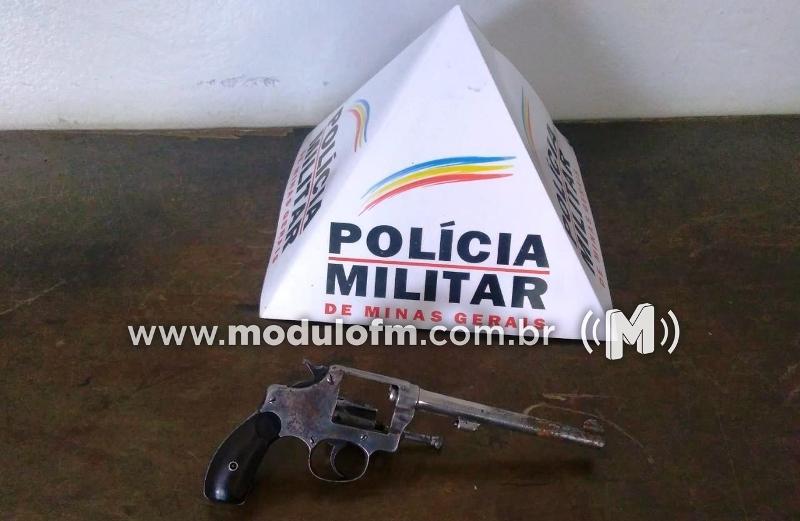 PM apreende arma de fogo supostamente usada em tentativa de homicídio em Serra do Salitre