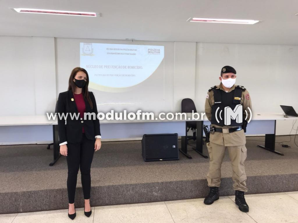 PM e Polícia Civil, Apresentaram o Núcleo de Prevenção de Homicídios - NPH