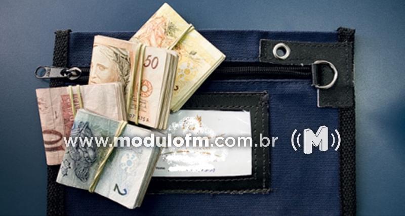 Polícia recupera quase R$ 30 mil de malote roubado em Patrocínio