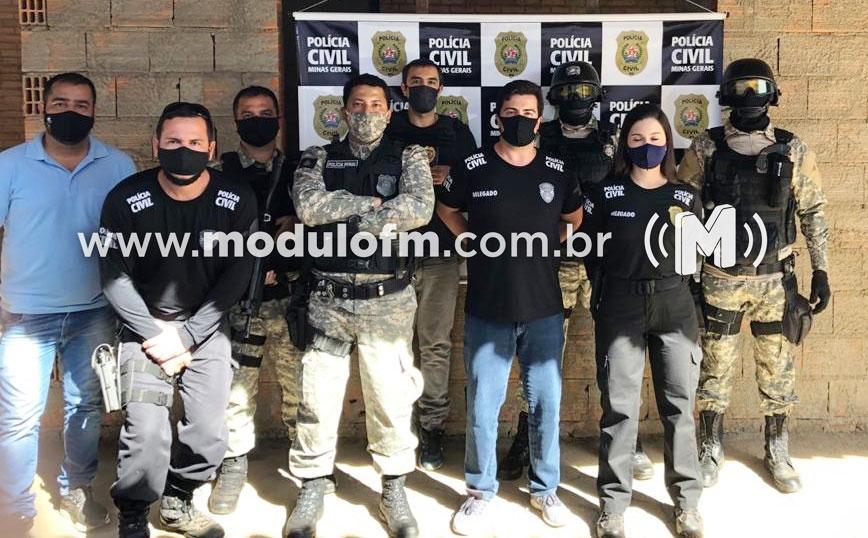 Policiais Penais são presos em operação contra comércio de drogas e uso de celulares dentro da penitenciaria de Patrocínio