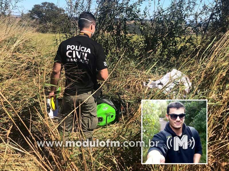 Policial Penal que trabalhava em Patrocínio morre em acidente de moto