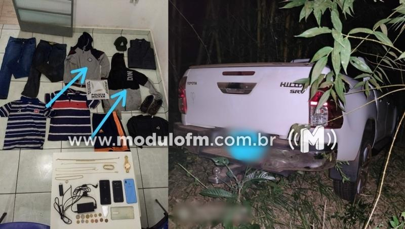 Taxista de Serra do Salitre é detido suspeito de participar de roubo em residência no distrito de Brejo Bonito
