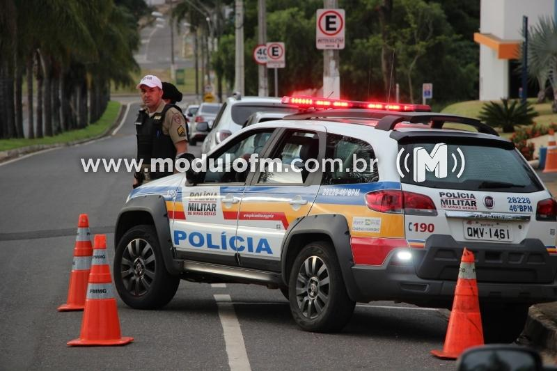 Veja o vídeo: Polícia Militar realiza Mega Operação Alferes em Patrocínio