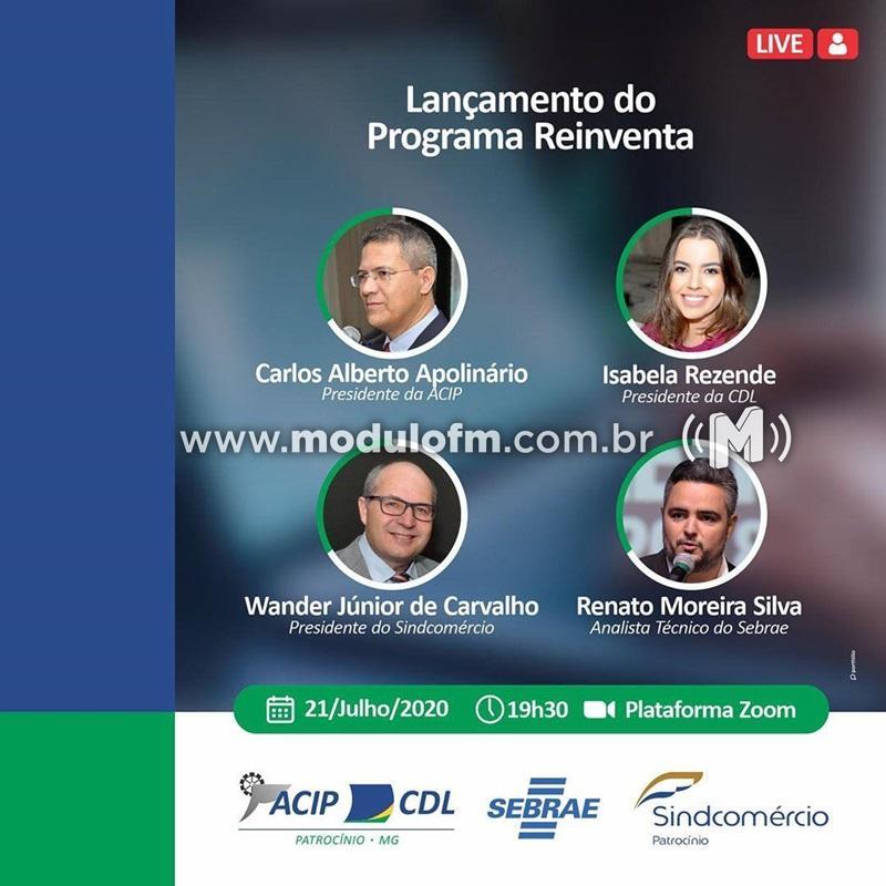 ACIP/CDL, Sindcomércio e Sebrae lançam nesta terça-feira o Programa...
