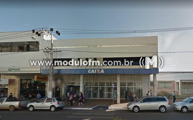 Agência da Caixa em Patrocínio não abrirá neste sábado(01/08)