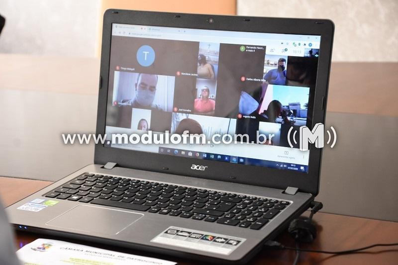 Câmara Municipal realiza 10ª Reunião Ordinária por videoconferência