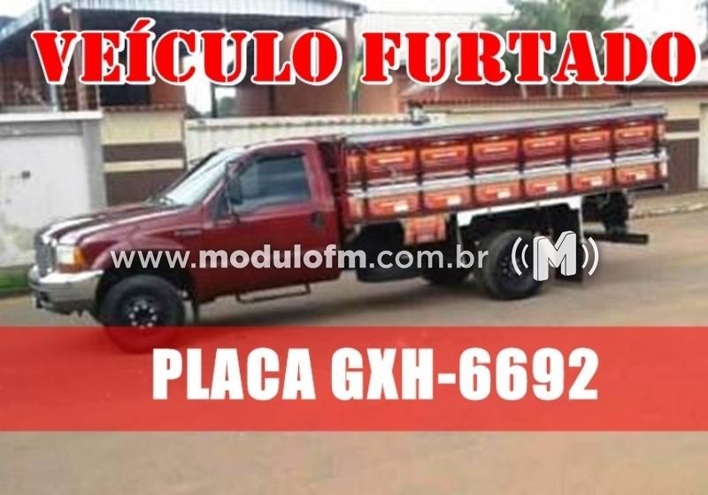 Caminhonete carregada com verduras é furtada em São João da Serra Negra