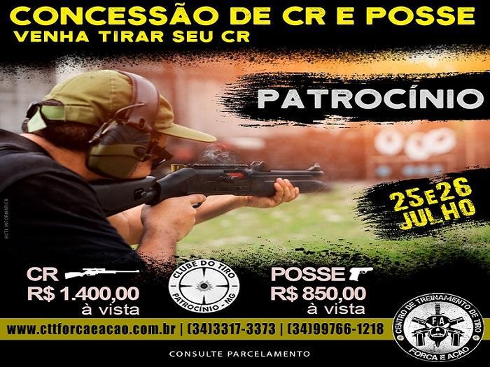 Clube do Tiro de Patrocínio abre 12ª turma para...