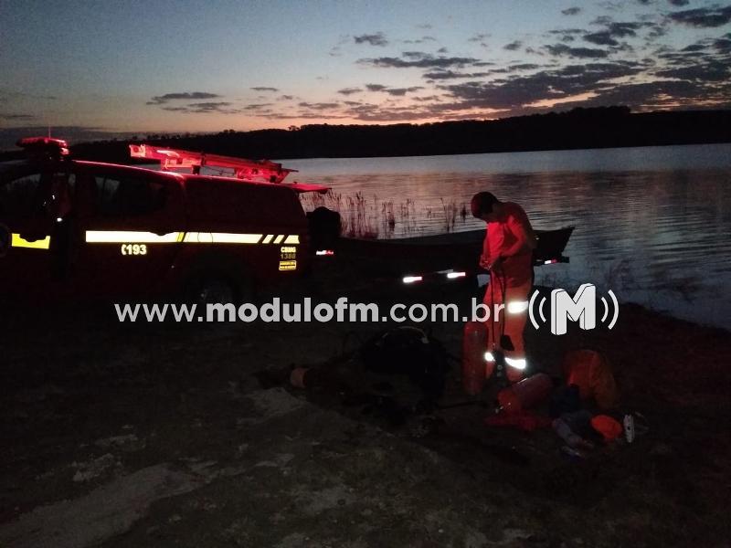 Continuam buscas por homem que se afogou na represa em Moreiras