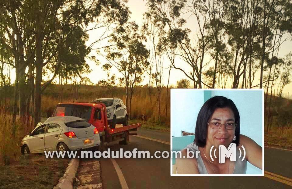 Enfermeira patrocinense morre em grave acidente