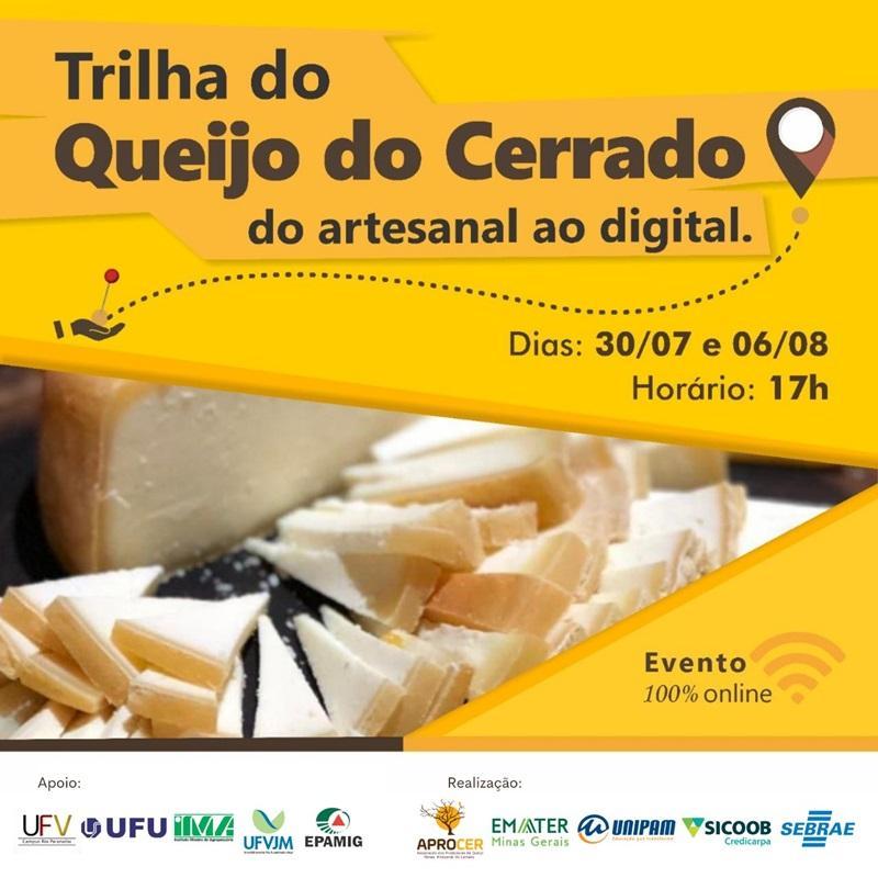 Evento online sobre Queijo Minas Artesanal do Cerrado começa...