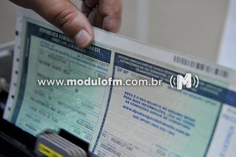 Exigência do CRLV 2020 é suspensa em Minas Gerais durante pandemia