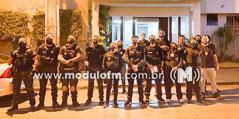 Operação Forrest Bird da Polícia Civil do Pará prende...