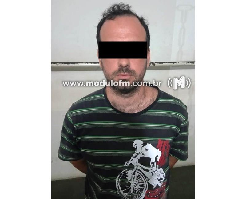 Pedófilo volta a ser preso após tentar agarrar criança de 10 anos em Patrocínio