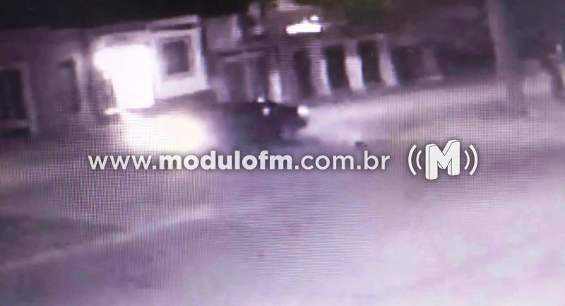 PM pede ajuda para encontrar motorista que atropelou gari e fugiu sem prestar socorro