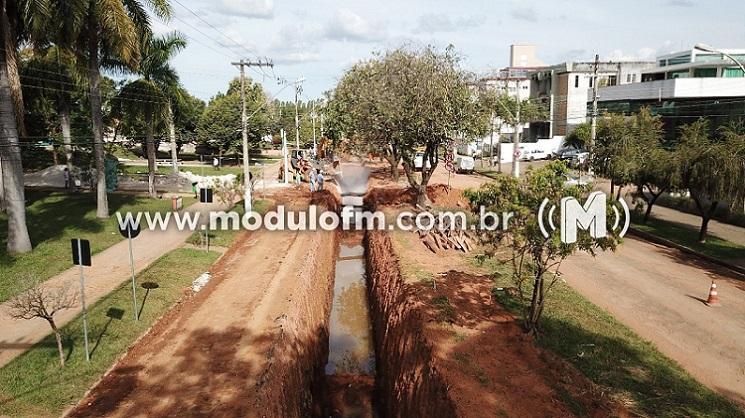 Primeira etapa de obras na Avenida João Alves do Nascimento deve ser finalizada até setembro, afirma secretário