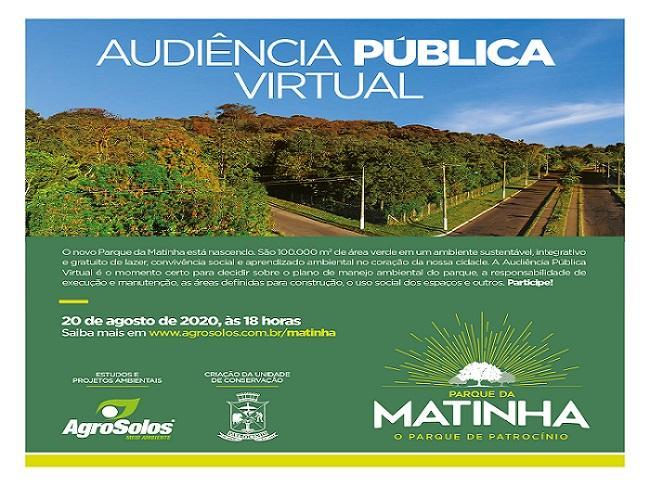 Audiência pública do Parque da Matinha acontece no dia...