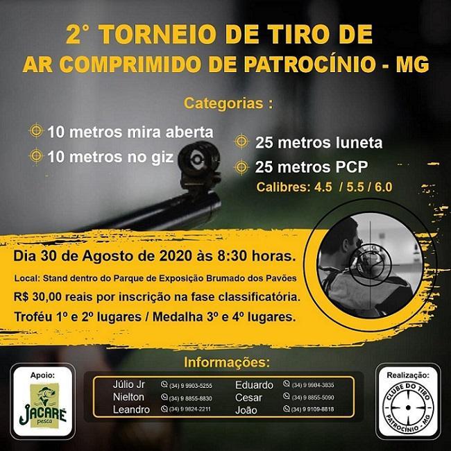 Clube do Tiro promove 2º Torneio de Tiro de Ar Comprimido em...