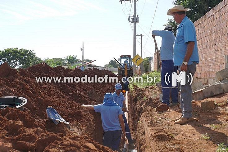 DAEPA realiza obras em avenida e abastecimento pode ser interrompido no fim de semana
