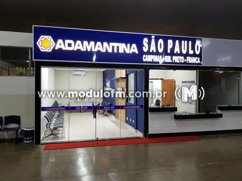 Expresso Adamantina inaugura sala VIP no terminal rodoviário de Patrocínio