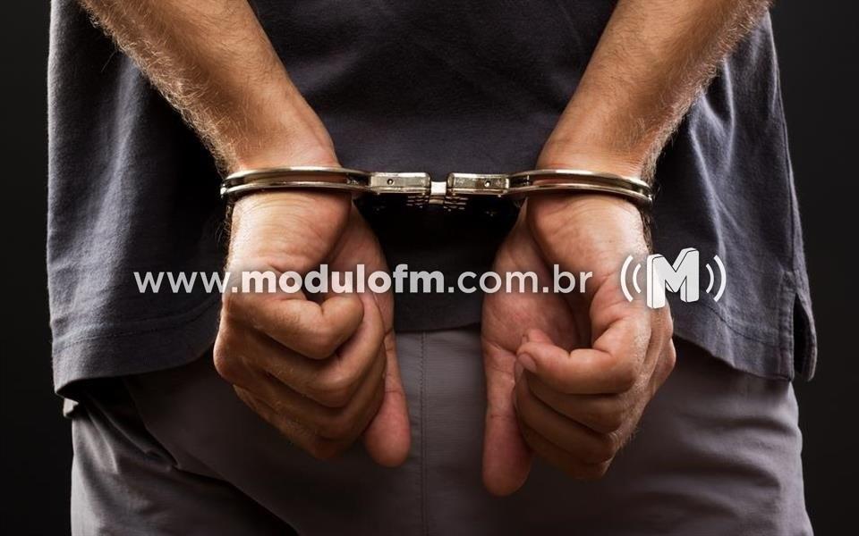 Foragido da justiça é capturado pela PM em Patrocínio