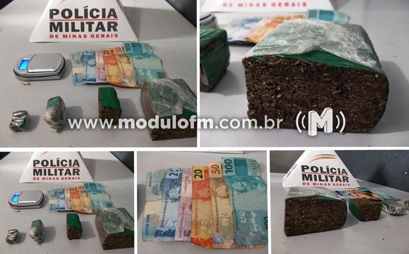 Foragido da justiça por cometer três homicídios em Patrocínio é preso em Patos de Minas com drogas