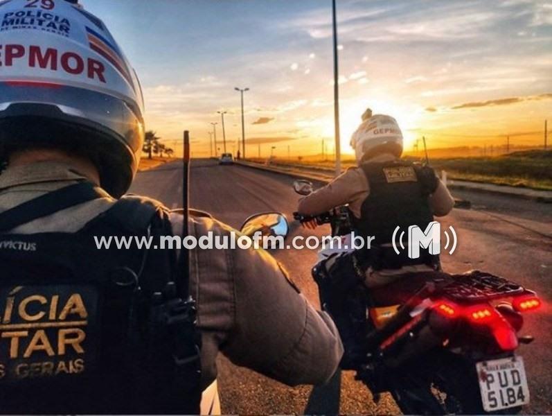 GEPMOR prende traficante alvo de denúncias anônimas em Patrocínio